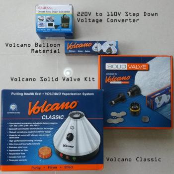 Storz Bickel Volcano Classic Solid Valve Starter Kit