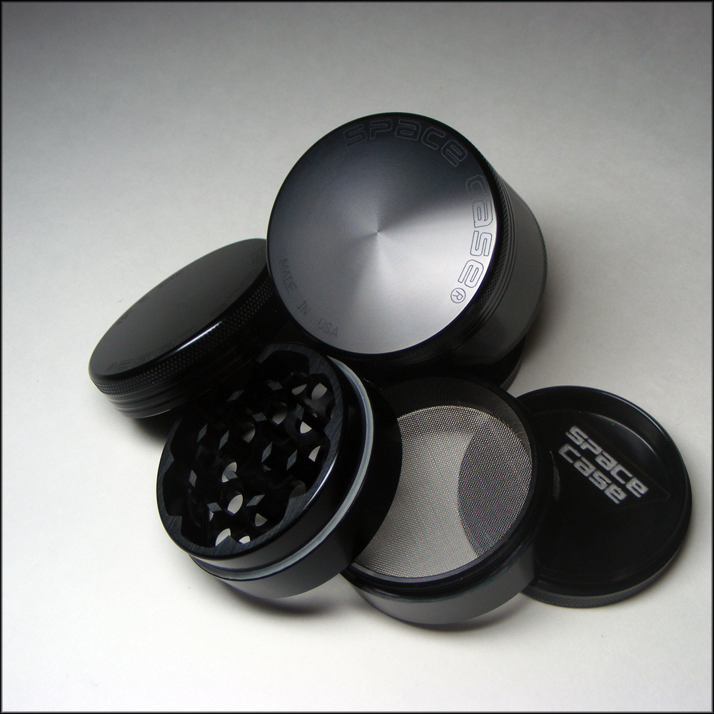 Space Case Four Piece Grinder Titanium