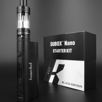 Subox Nano Vaporizer Mod with Tank Black