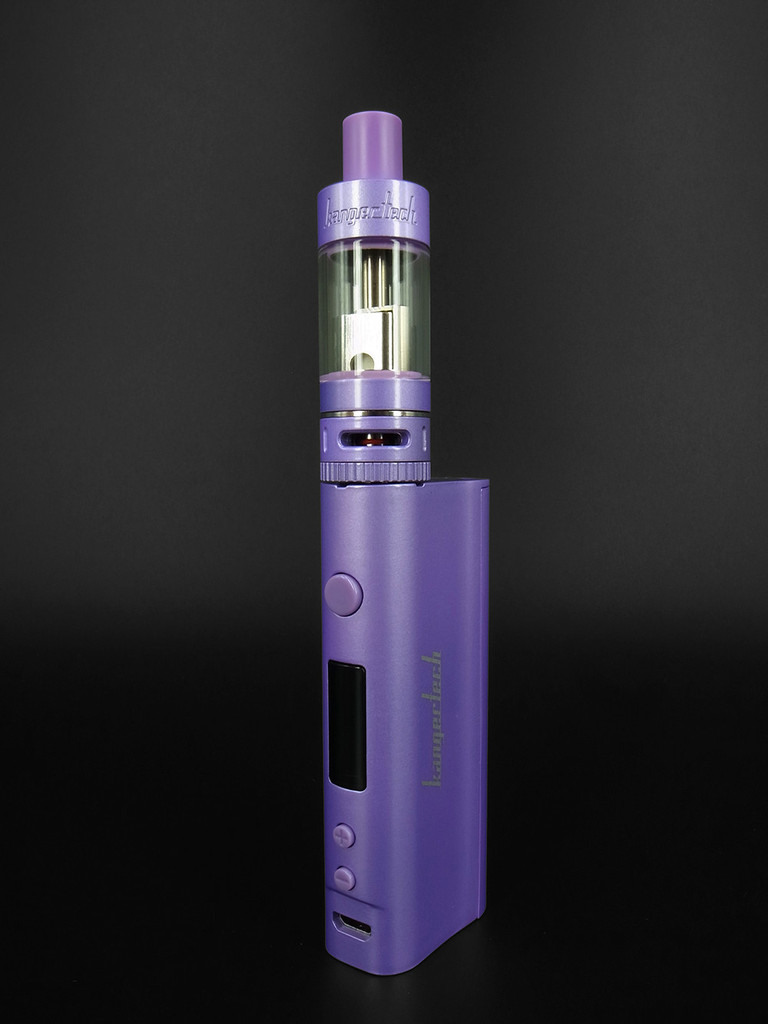 Subox Nano Vaporizer Mod with Tank Purple