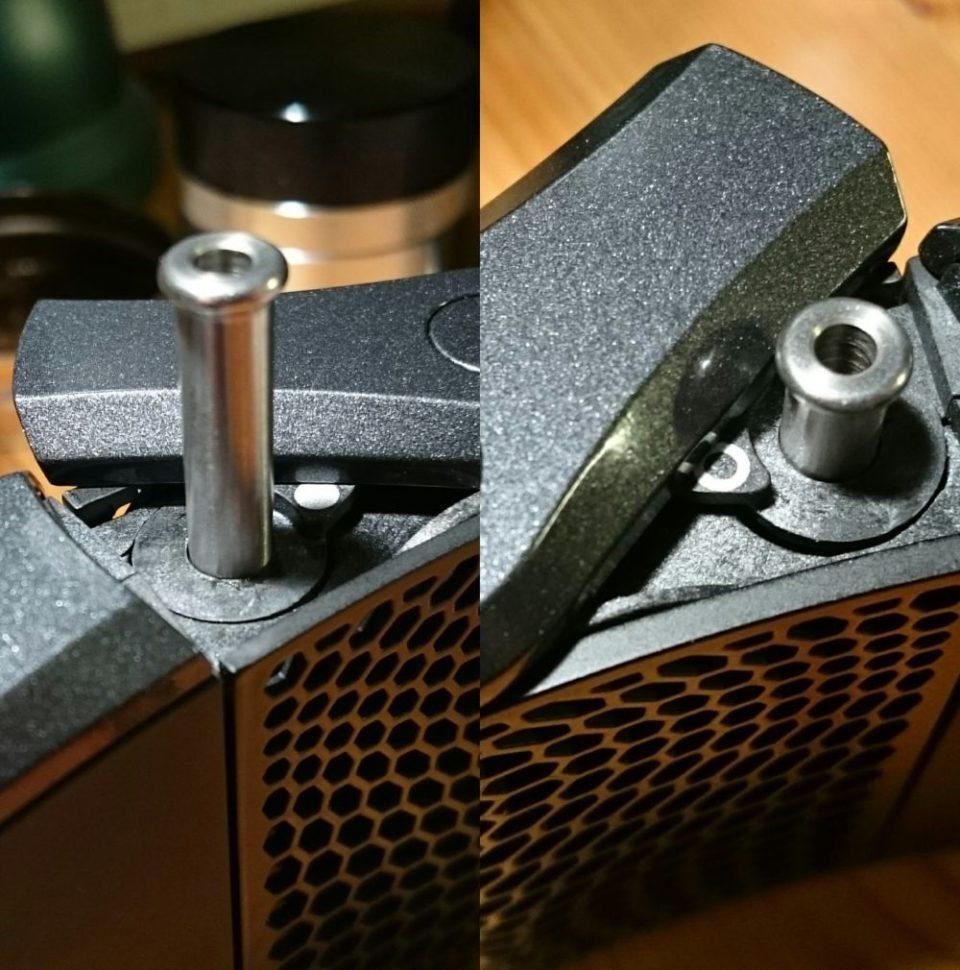 Haze Dual V3 Vaporizer Oven Selector