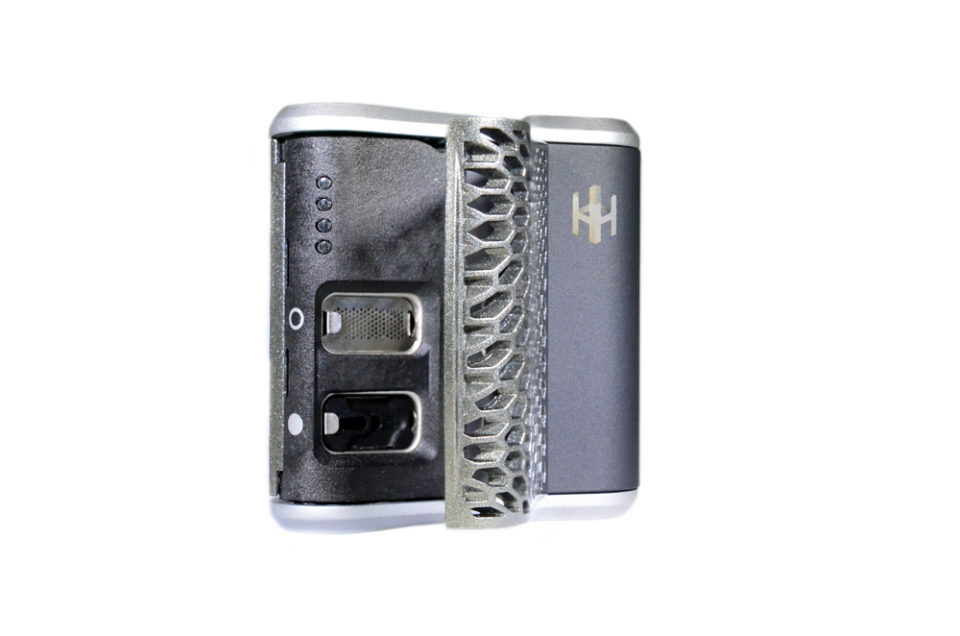 Haze Dual V3 Vaporizer Silver