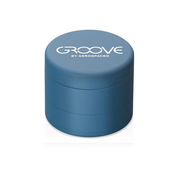 Aerpspaced Groove 50mm Blue Grinder