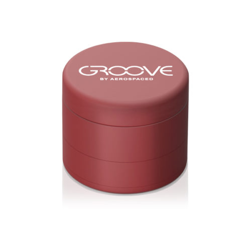Aerpspaced Groove 50mm Red Grinder